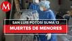 Muere bebé de 5 meses por covid-19 en San Luis Potosí