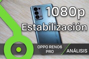 OPPO Reno6 Pro - Prueba de vídeo (frontal, 1080p, superestable)