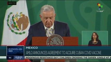 Mexico: Agreement to acquire Cuban vaccine Abdala announced