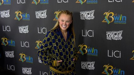 JoJo Siwa attends the 23rd Women's Image Awards red carpet in Los Angeles