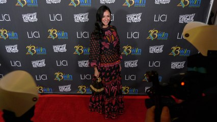 Jessica DiCicco attends the 23rd Women's Image Awards red carpet in Los Angeles