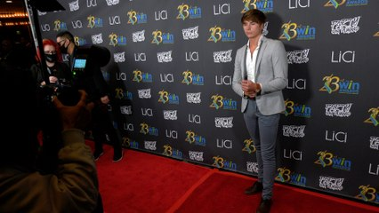Javi Luna attends the 23rd Women's Image Awards red carpet in Los Angeles