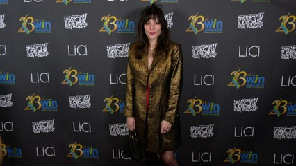 Sophia Dunn-Walker attends the 23rd Women's Image Awards red carpet in Los Angeles