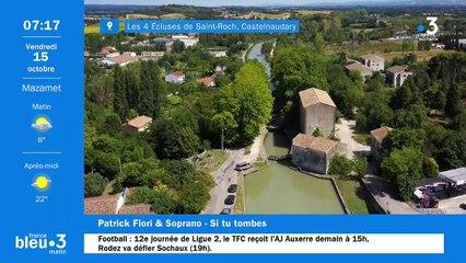 15/10/2021 - Le 6/9 de France Bleu Occitanie en vidéo