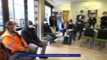 Reportage - Réfugiés : ils ont tous trouvé un emploi en Isère