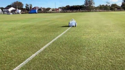 Football pitch robot