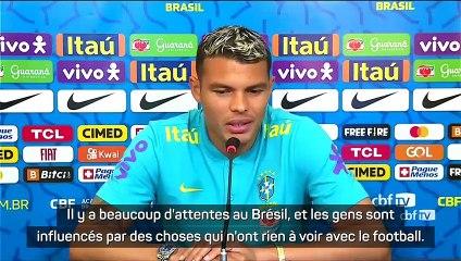 Thiago Silva soutient Neymar