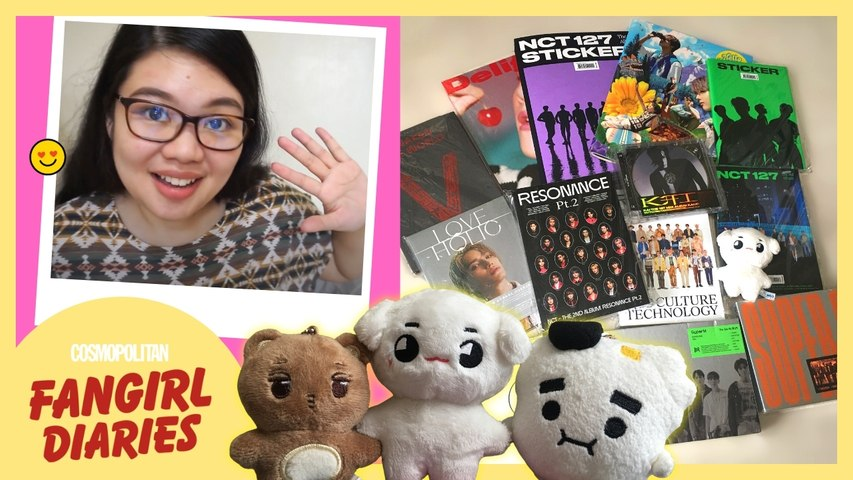 Unboxing My NCT 127 Sticker Albums: Sticky, Seoul City, Sticker Versions | Cosmo Fangirl Diaries