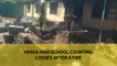 Vihiga High School counting losses after a fire