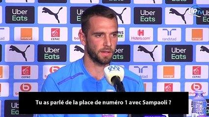 "Pau Lopez : ""Sampaoli ne m'a rien promis"""