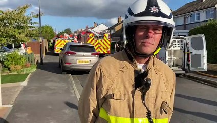 Tony Crook, Lancashire Fire and Rescue Area Operations Manager, with the latest from the suspected gas explosion