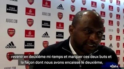 """8e j. - Vieira : """"Déçu de quitter le stade sans avoir gagné"""""""