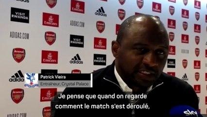 """Vieira : """"Déçu de quitter le stade sans avoir gagné"""""""