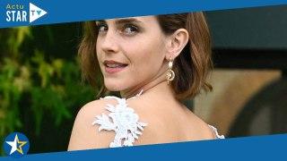 Emma Watson créé la surprise avec une robe recyclée et asymétrique aux Earthshot Prize