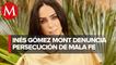 Inés Gómez Mont reaparece en redes