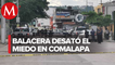 En Chiapas se desató la balacera en el municipio fronterizo, no hay detenidos.