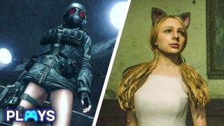 The 10 Weirdest Unlockables in Resident Evil Games