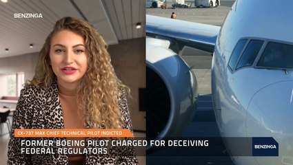 Ex-737 Max Chief Technical Pilot Indicted