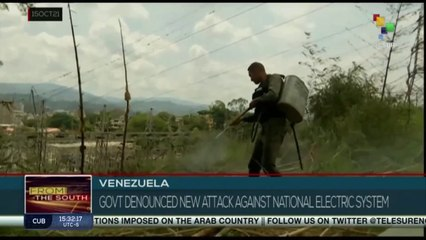 Venezuela: Government denounces a new attack against the electricity system