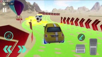 Muscle Car Stunts Jumping Pro Mega Ramp Driving / Android GamePlay