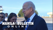 Biden says Bill Clinton 'is doing fine' at hospital