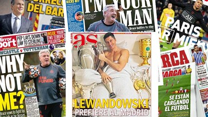 Robert Lewandowski affiche sa prfrence pour son avenir, Newcastle a trouv son homme providentiel