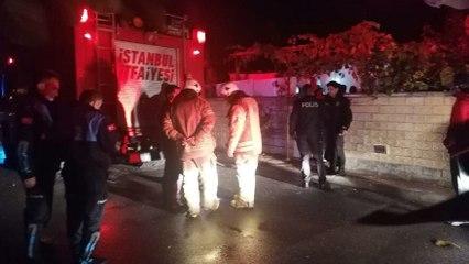 Silivri'de kaçak elektrik kablosu yangın çıkardı iddiası