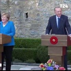 """Erdoğan ve Merkel arasında başkanlık sistemi diyaloğu: """"Hayat böyle"""""""