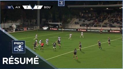 PRO D2 - Résumé Provence Rugby-US Bressane: 23-17 - J07 - Saison 2021/2022