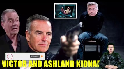 CBS Young And The Restless Victor and Ashland kidnap Jesse, will die if they don't leave Genoa