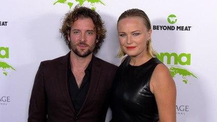 "Jack Donnelly, Malin Akerman ""2021 EMA Awards Gala"" Green Carpet Fashion!"
