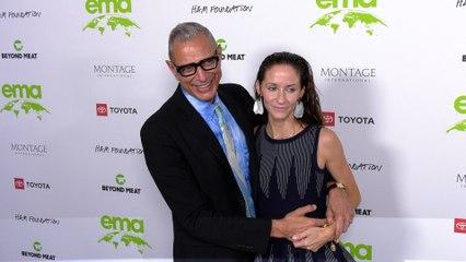 "Jeff Goldblum, Emilie Goldblum ""2021 EMA Awards Gala"" Green Carpet"