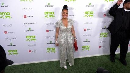 "Antonique Smith ""2021 EMA Awards Gala"" Green Carpet Fashion!"