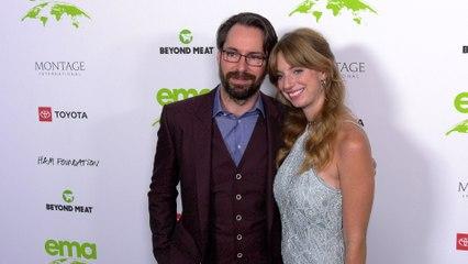 "Martin Starr, Alex Gehring ""2021 EMA Awards Gala"" Green Carpet"