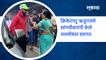 Ruturaj Gaikwad | क्रिकेटपटू ऋतुराजचे सांगवीकरांनी केले जल्लोषात स्वागत | SakalMedia