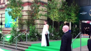 Emma Watson arrives at The Earthshot Prize in London!