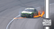 Crazy restart creates a wreck with a fiery No. 38 for Anthony Alfredo