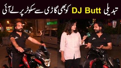 Tabdeeli DJ Butt ko b gari se scooter per le ai