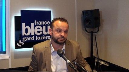 Arnaud Bord secrétaire fédéral PS Gard