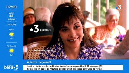 18/10/2021 - Le 6/9 de France Bleu Occitanie en vidéo