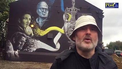 LUFC Mural Guiseley