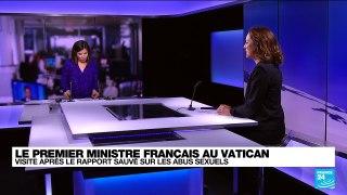 Castex à la rencontre du pape, au milieu d'une tempête pour l'Eglise de France