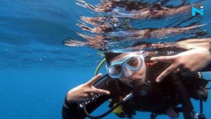 Priyanka Chopra goes scuba diving in Spain, says 'Stress needs to be silenced'