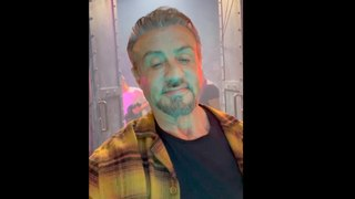 Sylvester Stallone says goodbye to Barney Ross on The Expendables 4 movie set