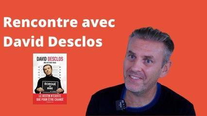 David Desclos : de la prison au one man show