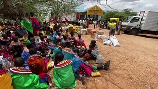 Drought in northern Kenya pushes millions towards hunger
