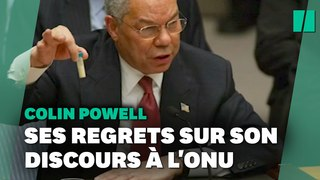 Colin Powell et son discours à l'Onu,