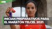Presentan la playera y medalla del Maratón de la Ciudad de México 2021