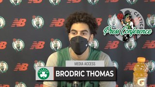 Brodric Thomas Introductory Press Conference | 10-18
