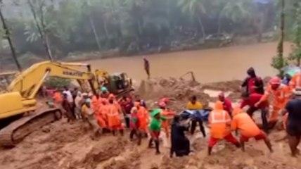 Floods, Landslides Kill At Least 22 in Kerala India